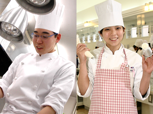 調理+製菓 Wライセンスコースイメージ