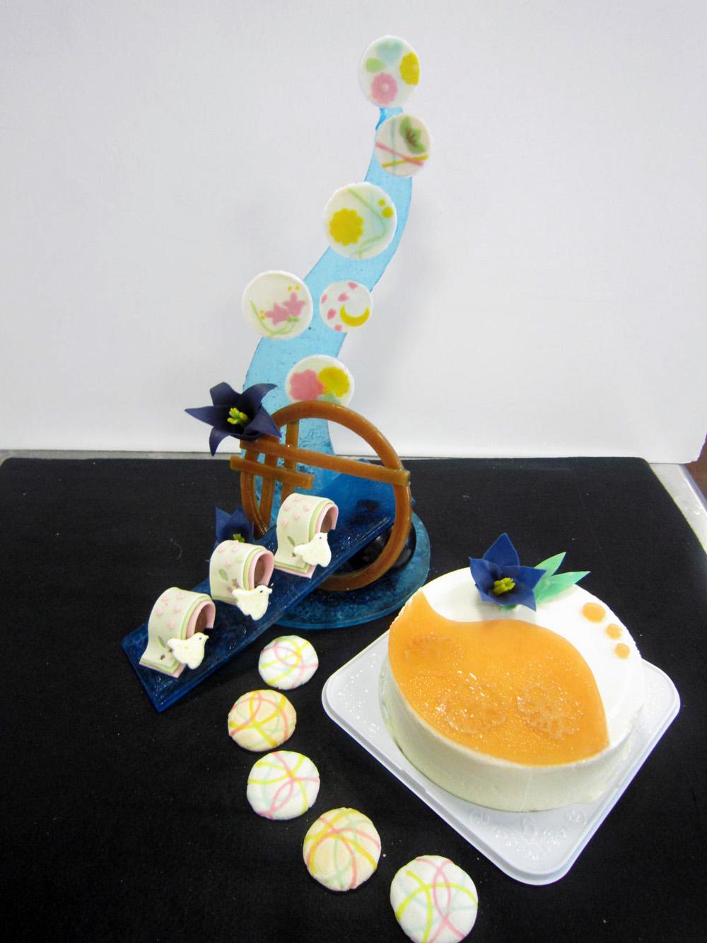 菓子コンテスト応募風景