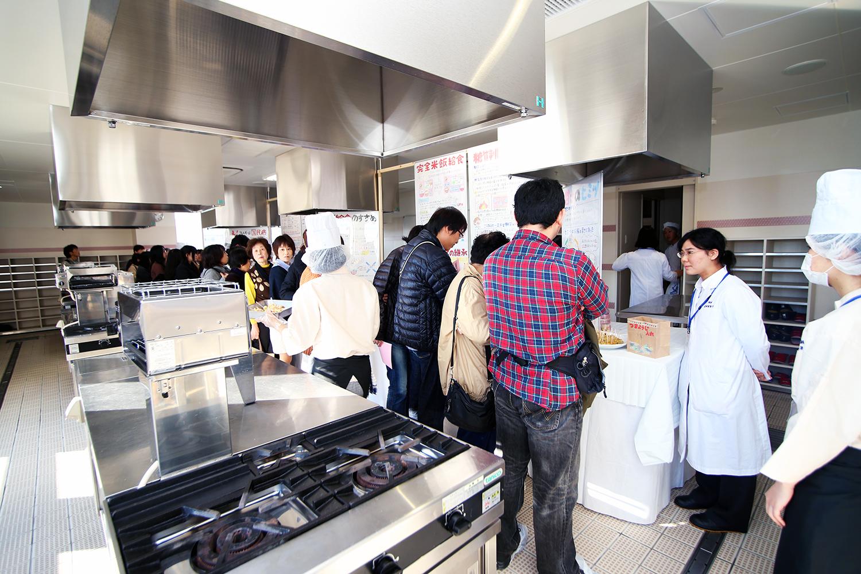 調理校4F日本料理実習室