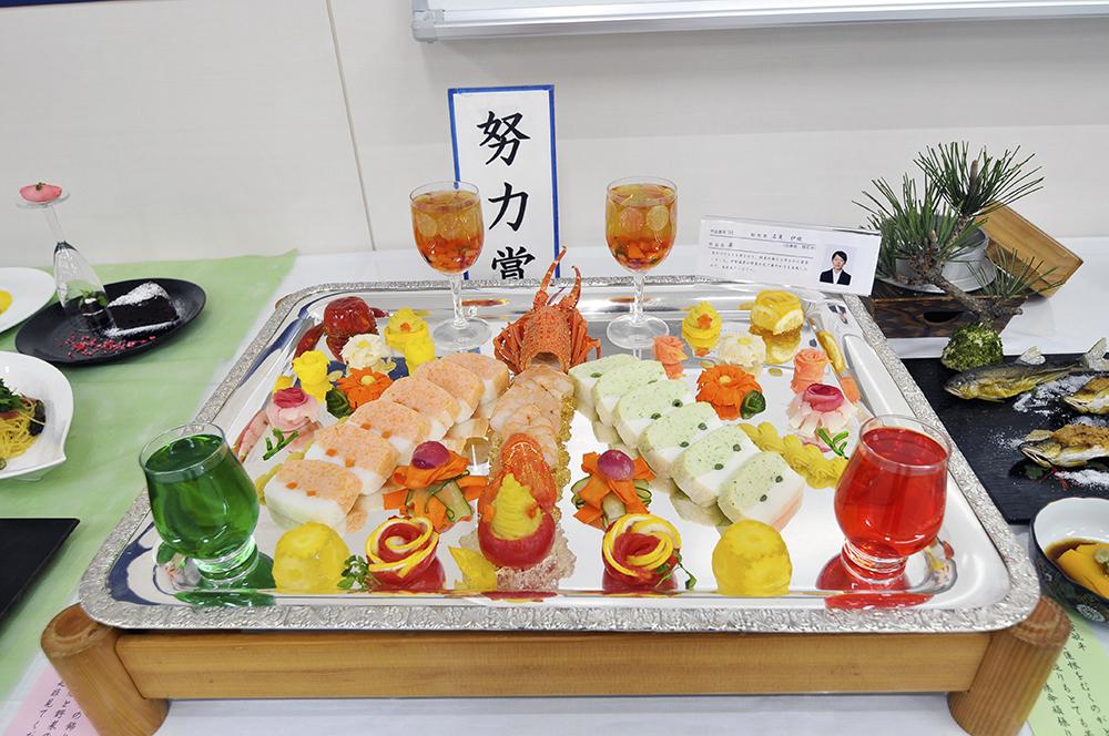 調理師科・栄養士科学生による創作料理作品