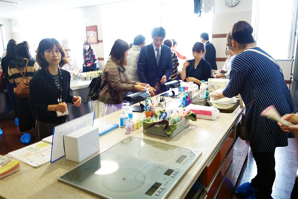 調理校5Fパティスリー実習室